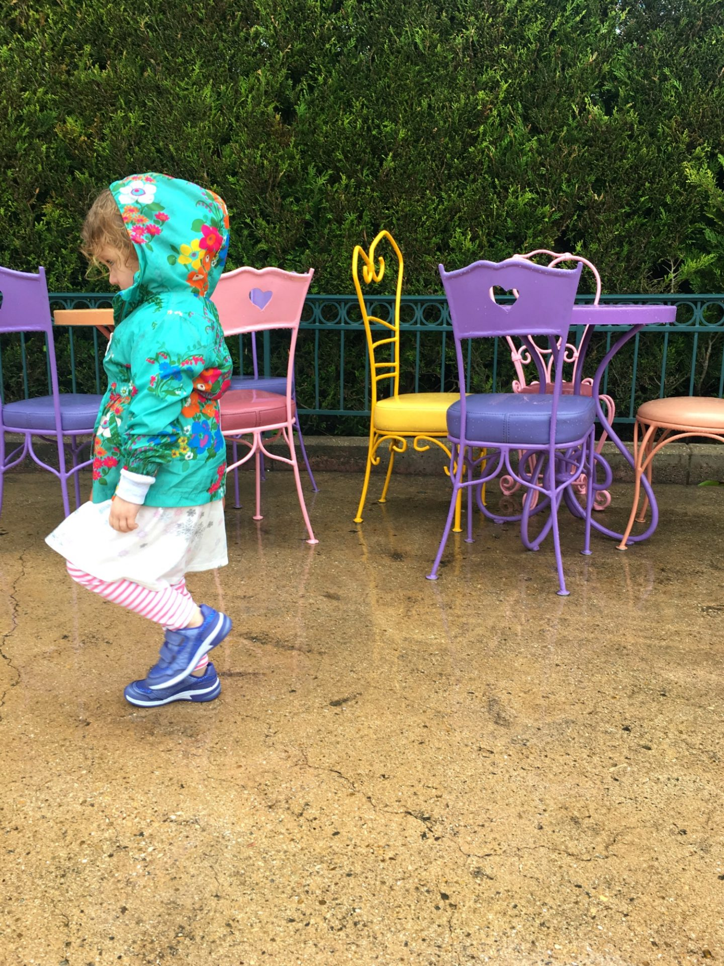 Rain at Disneyland Paris trip tips