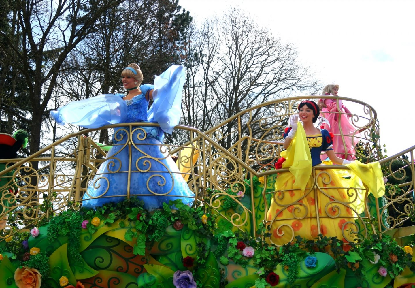 The parade at Disneyland Paris