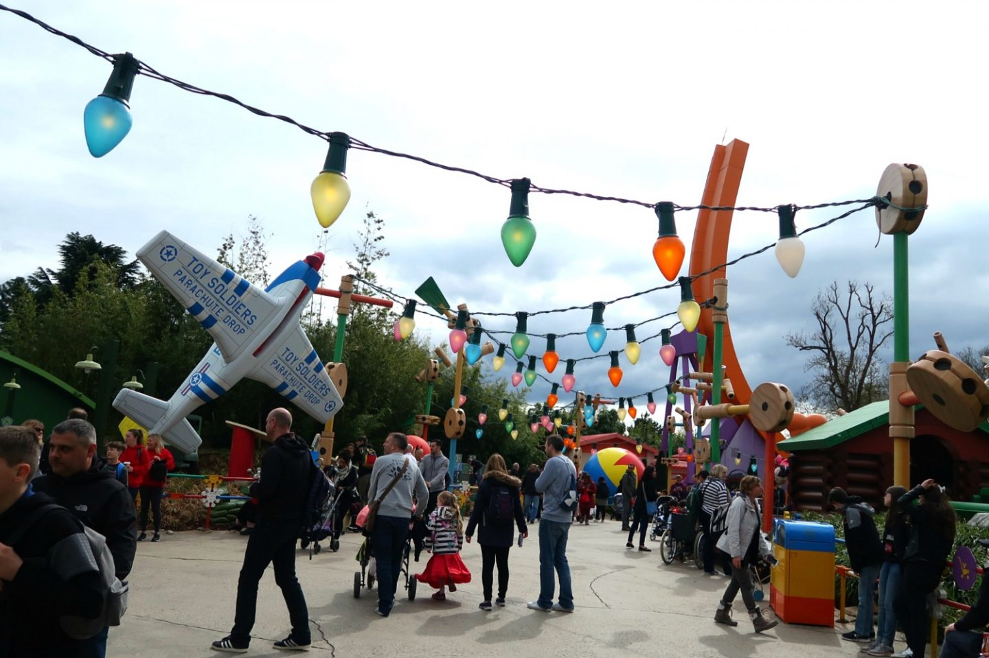 Toy Story play land at Disneyland Paris