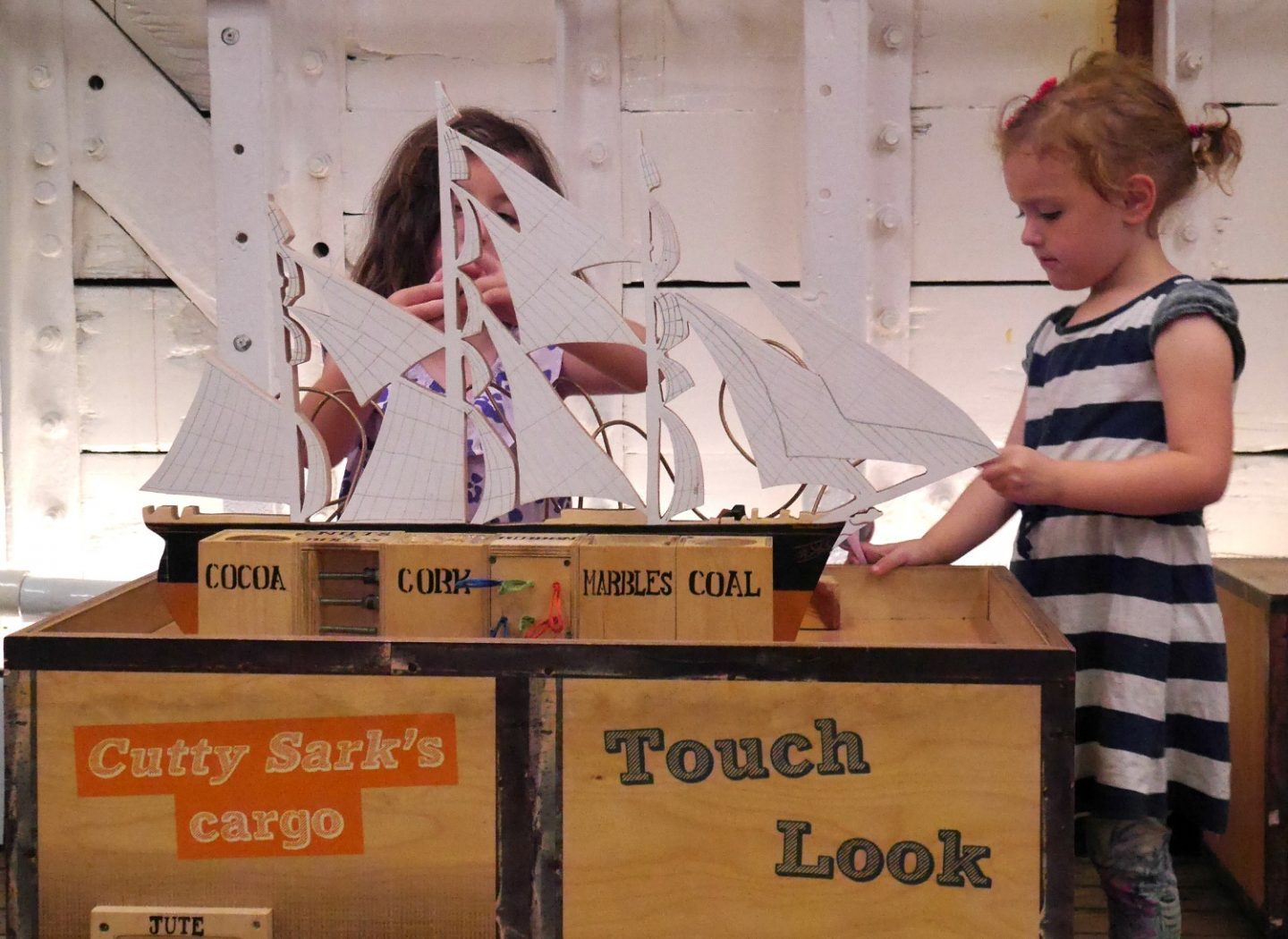 Cutty Sark review - interactive exhibitions for children