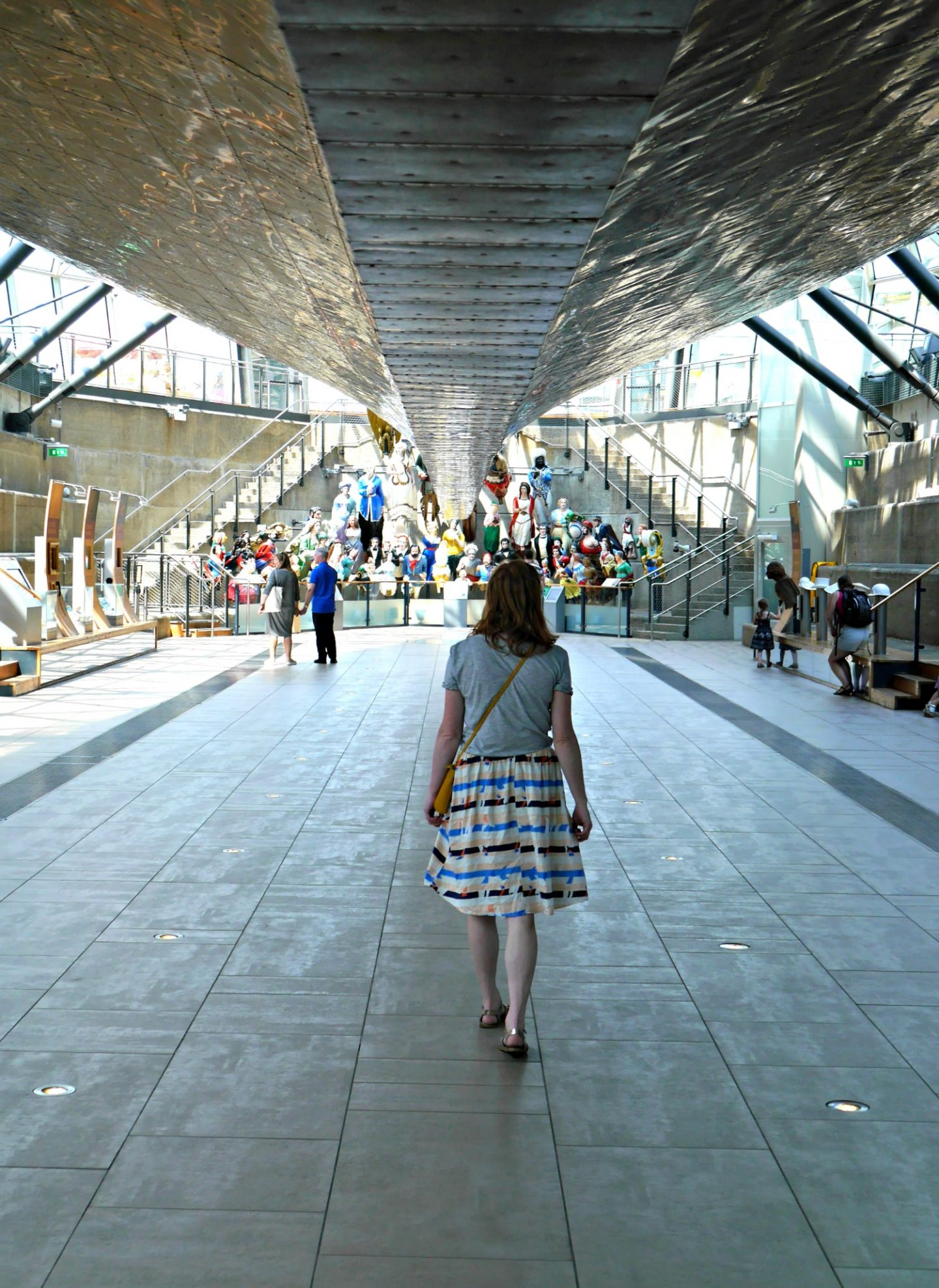 Cutty Sark review - under the hull