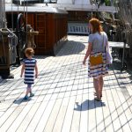 Cutty Sark review - walking on the top deck of the ship