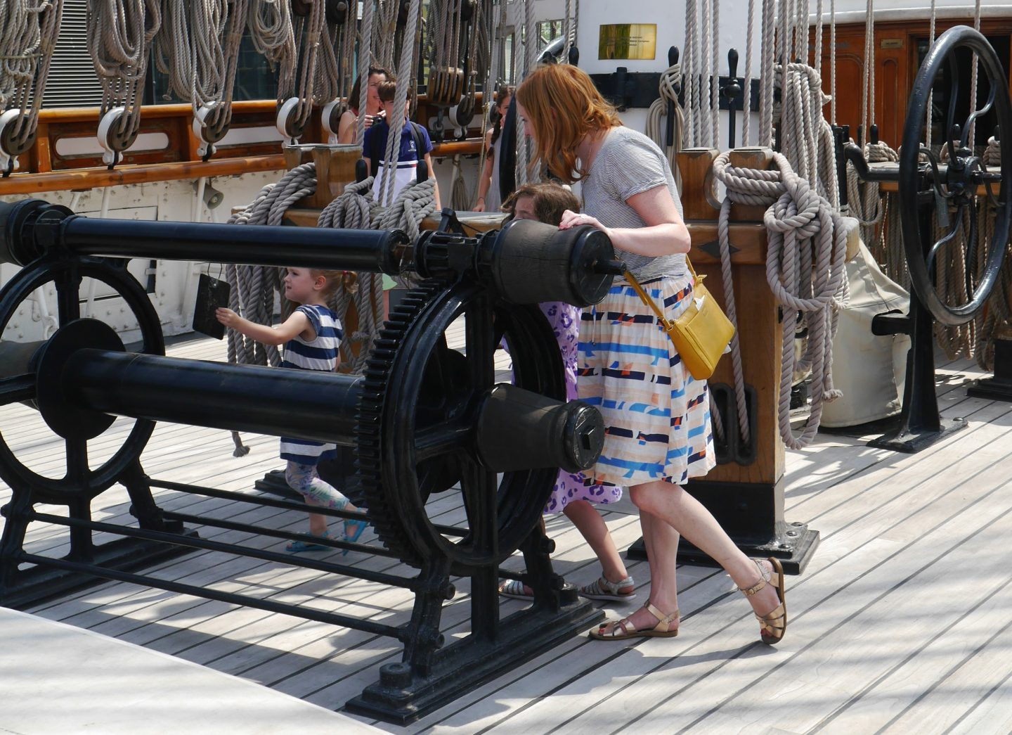 Cutty Sark review - the top deck