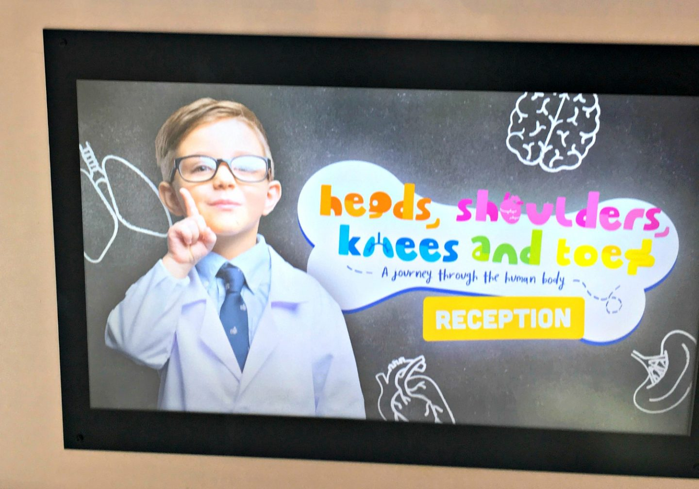 Heads, Shoulders, Knees and Toes at The Glades, Bromley