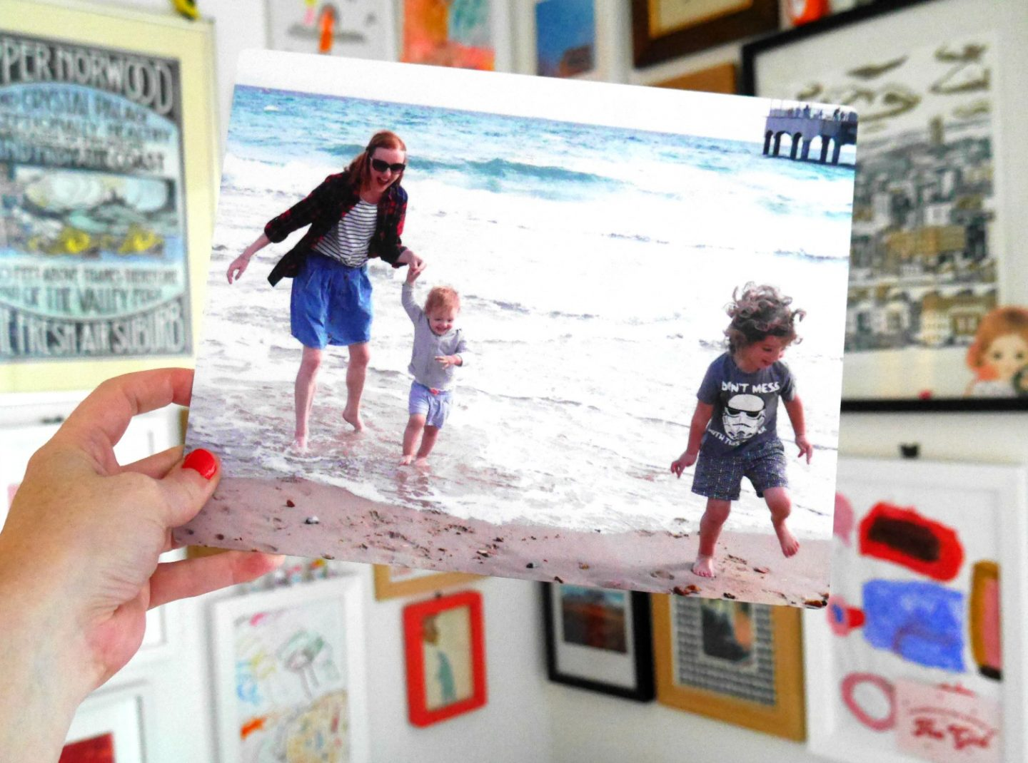 Snapfish review - printing photos of bournemouth beach