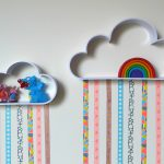 Washi Tape Cloud Shelves: Easy Kid's Room DIY