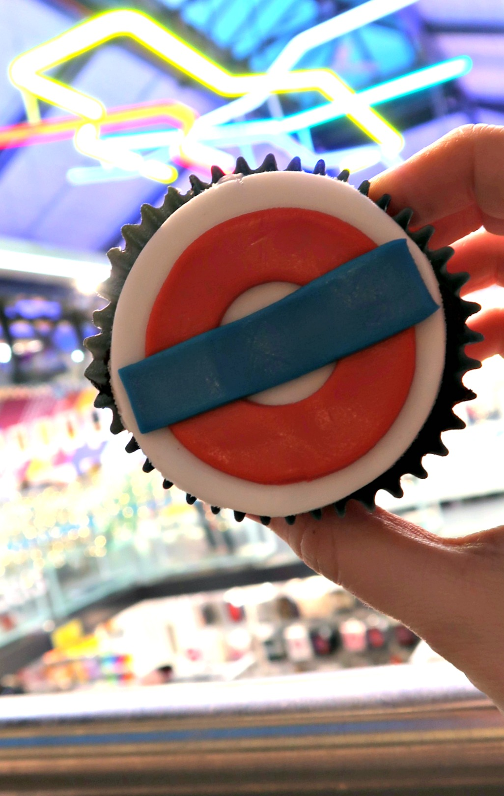 London Transport Museum cupcakes