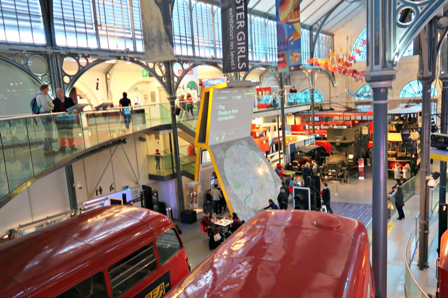 London Transport Museum - from the inside