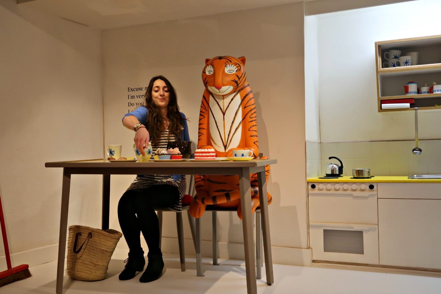 The Tiger at the Discover Children's Story Centre
