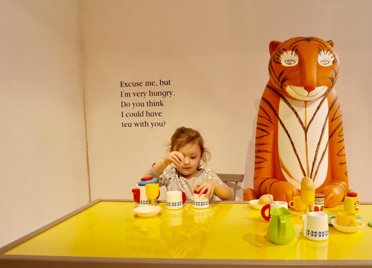 Tiger who came to tea - the Discover Children's Story Centre