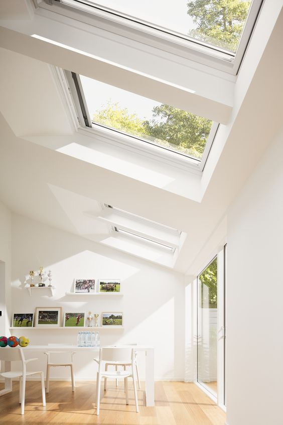 Adding a single-story extension to your house to give you a light and bright kitchen