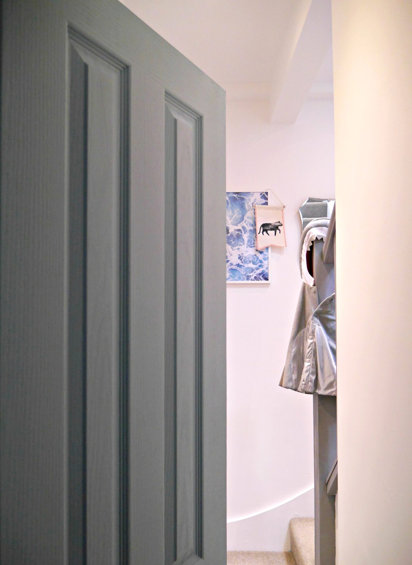 Painted doors - duck egg blue by Crown Paint