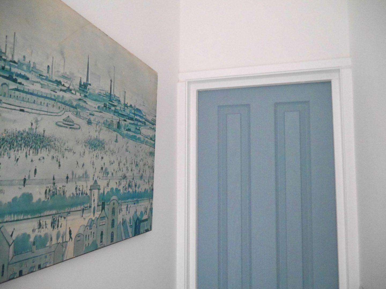 Painted doors - Duck Egg by Crown Paint's Breatheasy range