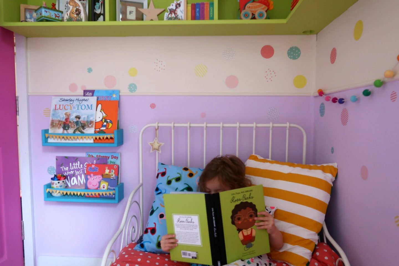 IKEA minnen bed and school run hacks