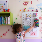 Starting school: school run hacks with the IKEA Skadis pegboard