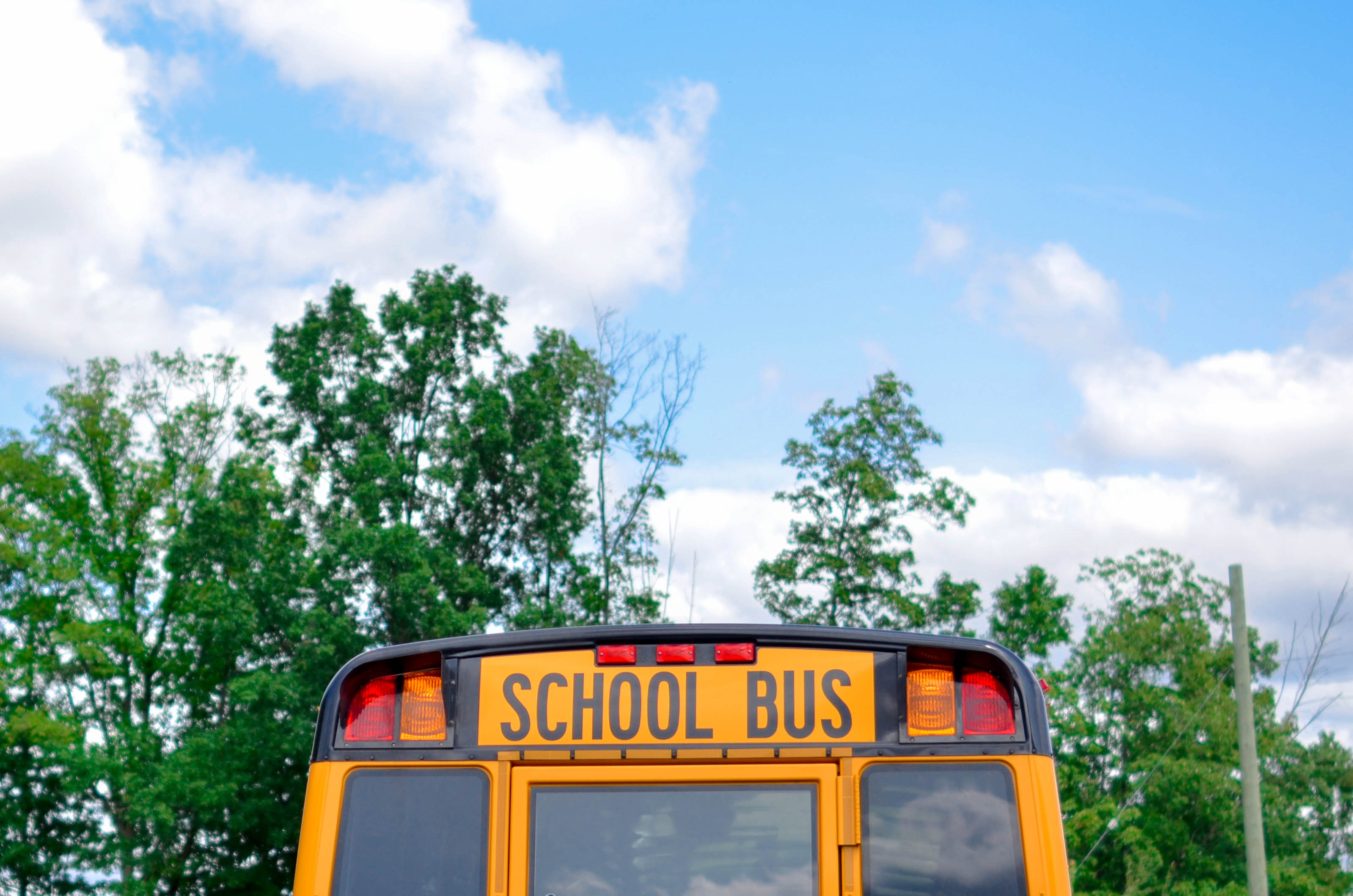 School bus - 21 things I've learned from the first term of starting primary school