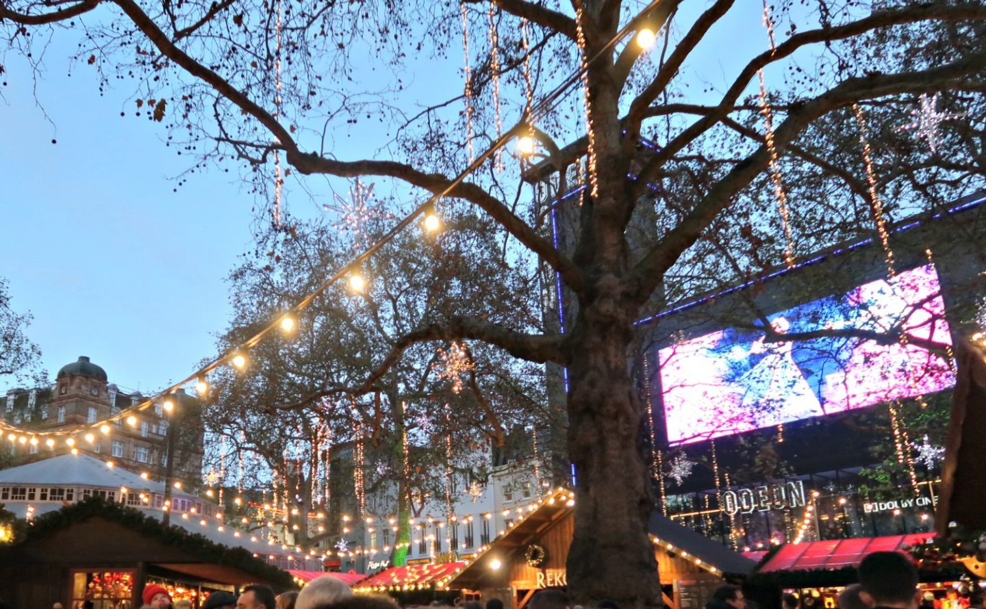 Leicester Square for Christmas - Odeon