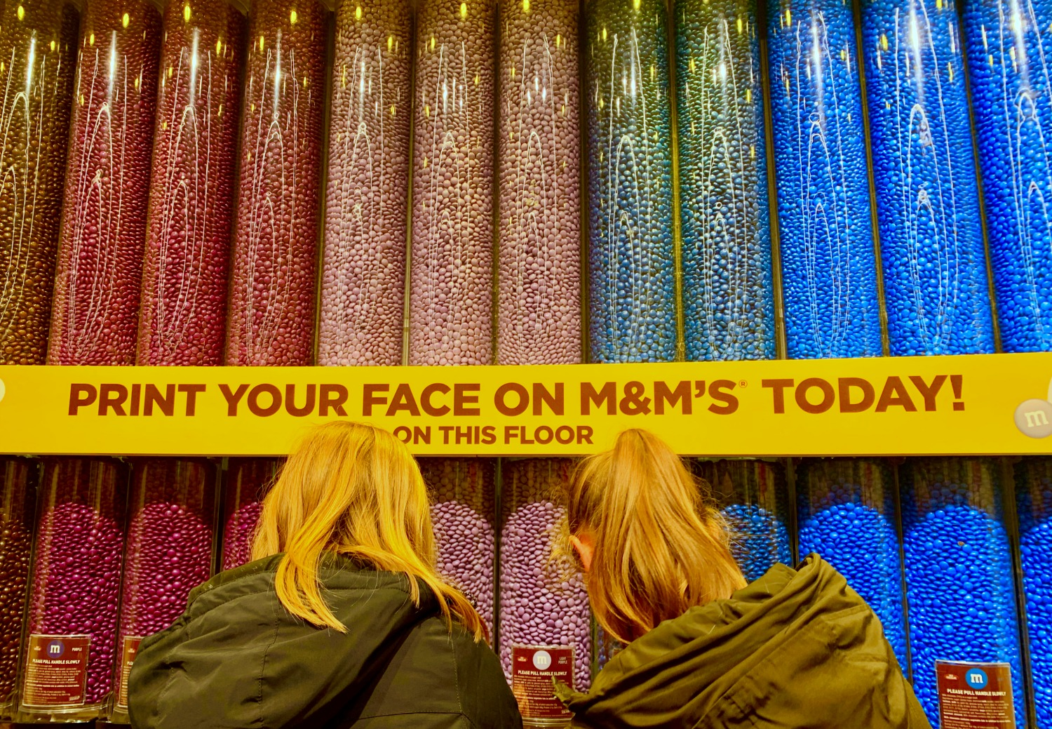 M&M store Leicester Square London