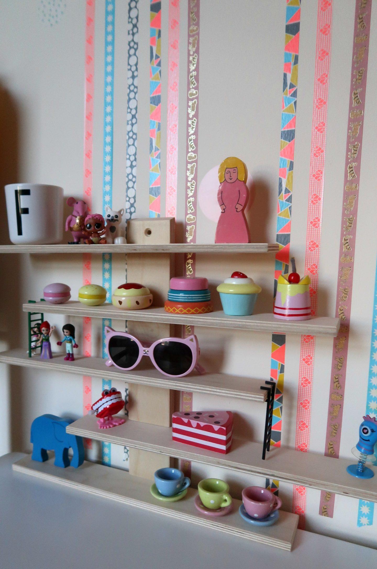 IKEA Lustigt shelves for toys