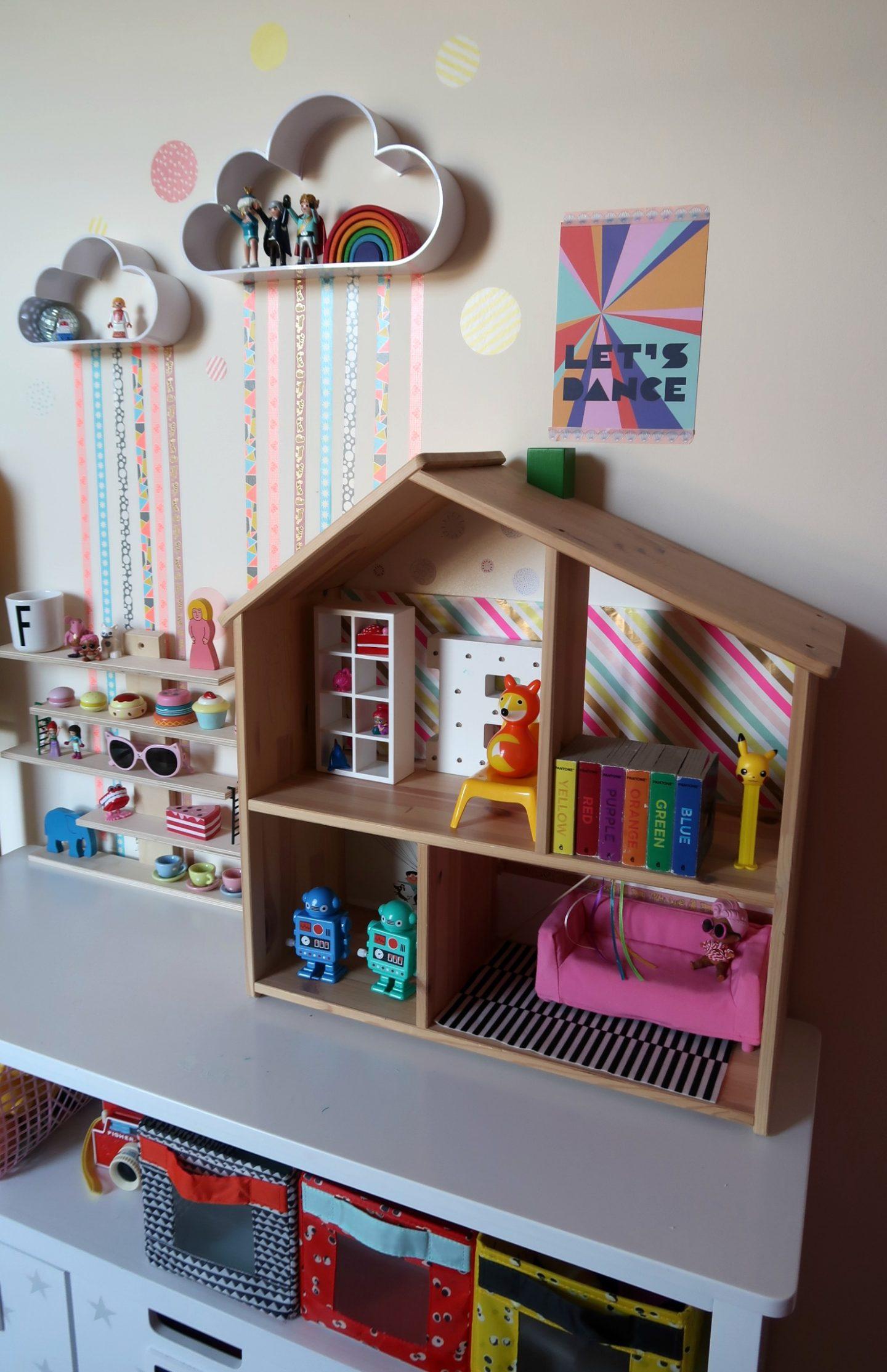 Kids room storage hacks with IKEA Flisat