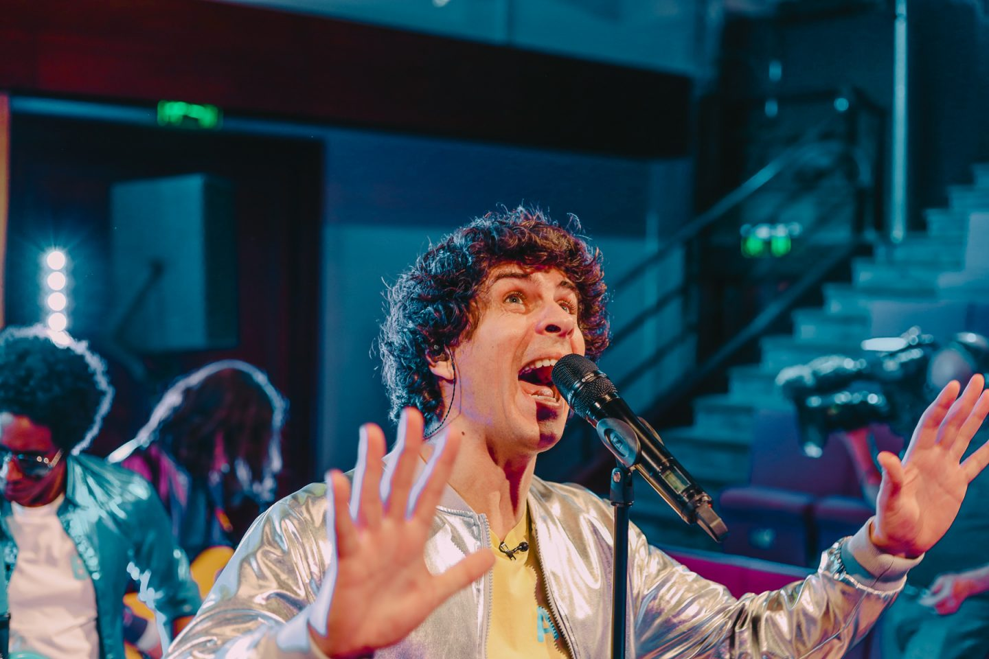 Andy Day singing - Andy and The Band TV programme, Andy and The Odd Socks
