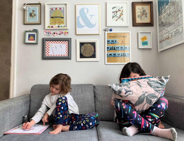 Parenting in a pandemic - lockdown art