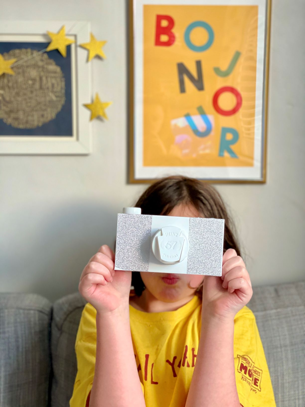 How to make a cardboard box camera for kids - and easy and fun recycled object craft