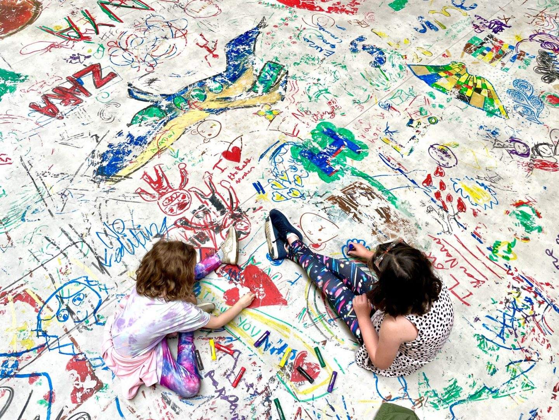 Mega Please Draw Freely at Tate Modern
