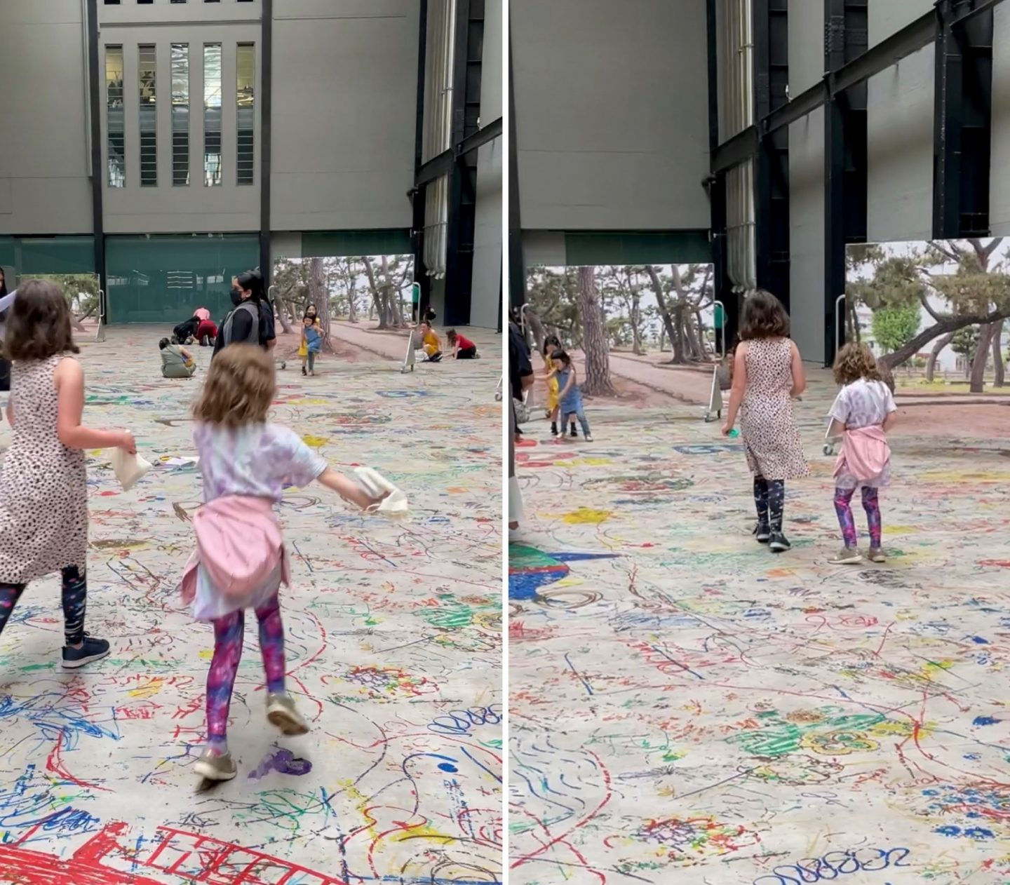Tate Modern for kids - Mega Please Draw Freely event